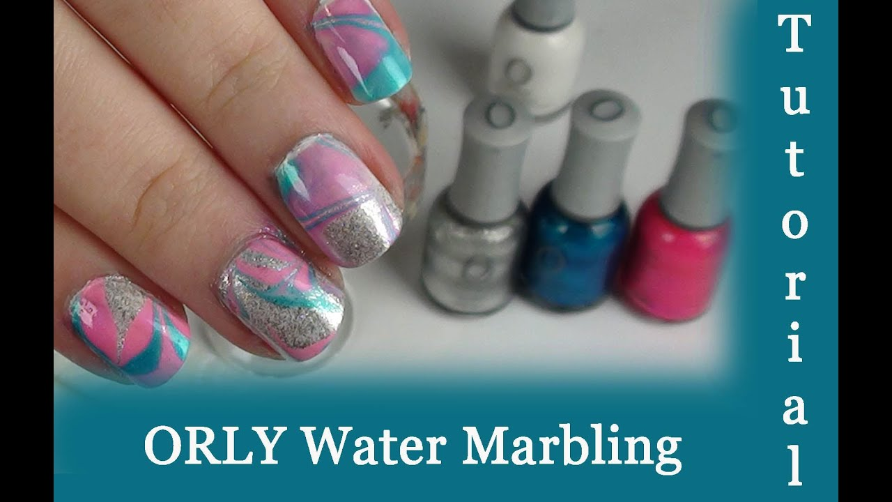 Tutorial: Orly - Water Marbling Nail Art