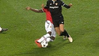 Eric Bailly Amazing Tackle vs Sevilla