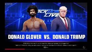 WWE 2K19 | Childish Gambino V Donald Trump | This Is America V MAGA
