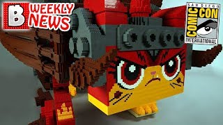 EVERYTHING You Need to Know! LEGO @ SDCC 2018 | LEGO NEWS