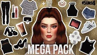 MEGA PACK +500 ITENS FEMININOS || Roupas, Sapatos, Skins ... || THE SIMS 4 || POR TAMI SAOPS