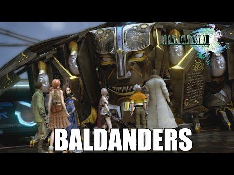 GUIA PARA DERROTAR A BALDANDERS ★★★★★│FINAL FANTASY XIII PC│CAPITULO 11