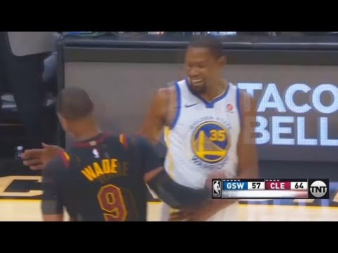 Kevin Durant Gives Dwyane Wade Respect After Fooling Him with Layup but throws Alley-Oop Instead!