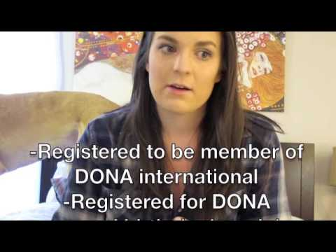 Becoming A DONA  International Birth Doula