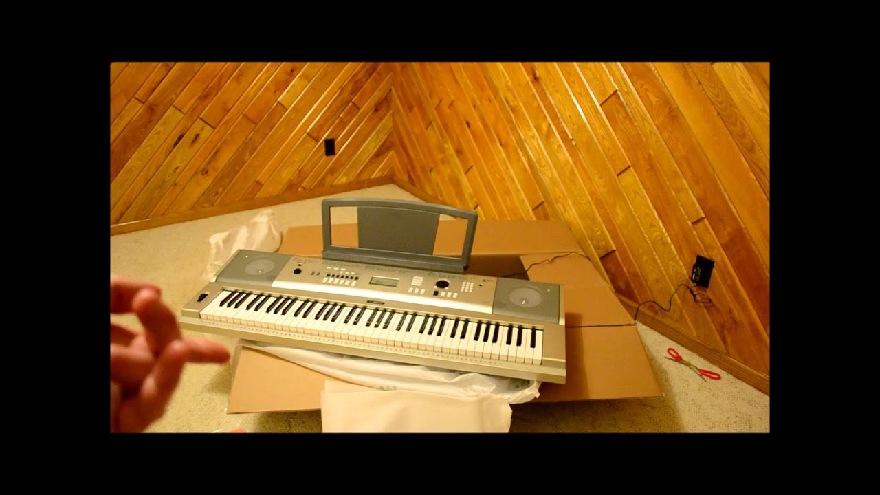 Yamaha ypg 235 unboxing youtube for Ypg 235 yamaha