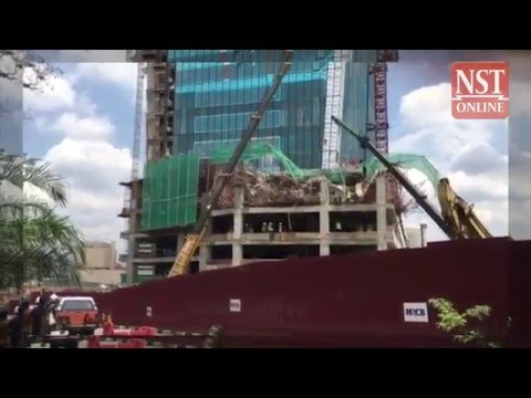 Three foreign workers injured, three still trapped