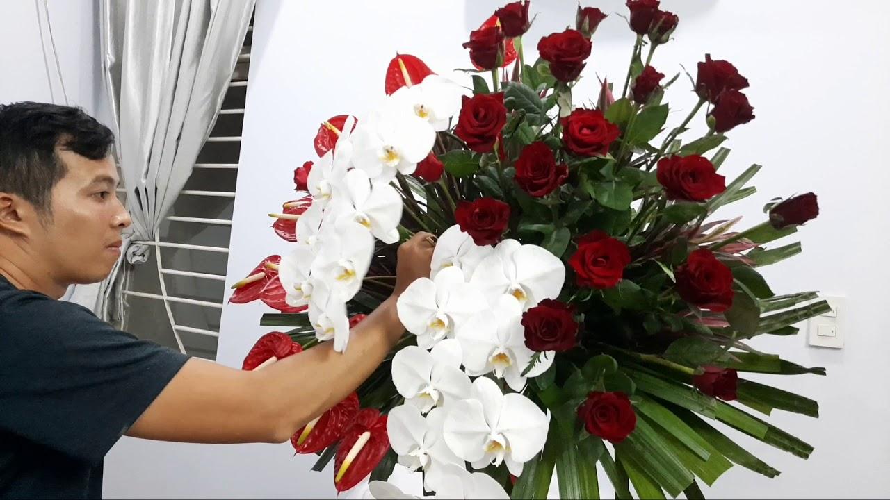 Nhận đặt kệ hoa chúc mừng các loại tại Hồ Chí Minh LH 0933322280