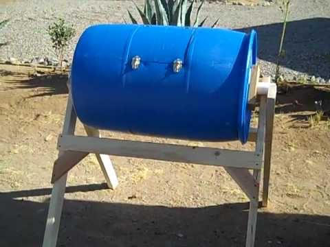 Home Made Compost Tumbler