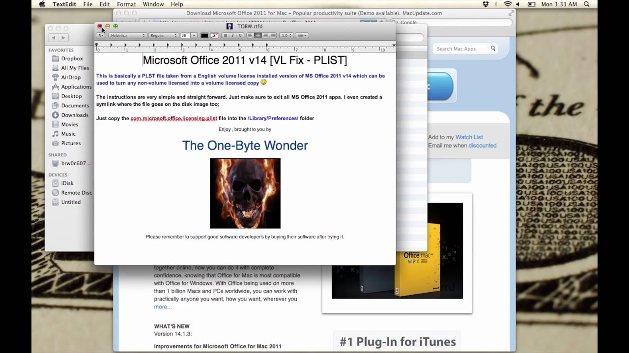 Why should you download office 2011 for Mac?