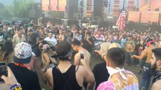 Fight breaks out at Beyond Wonderland Socal 2015