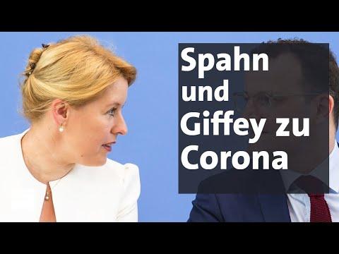 """Spahn Und Giffey Zu Corona-Pandemie: """"Jetzt Konsequent Bleiben""""   BR24"""