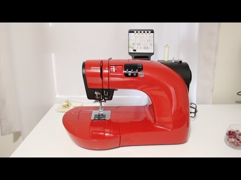Test Toyota Oekaki YouTube Magnificent Oekaki Sewing Machine Reviews