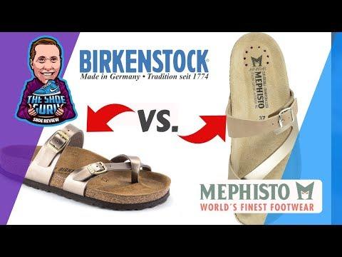 Birkenstock Vs. Mephisto Comparison