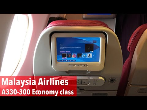 Malaysia Airlines A330 eXperience: MH72 Kuala Lumpur to Hong Kong (economy class)