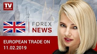 InstaForex tv news: 11.02.2019: Traders not ready to sell USD (EUR/USD, GBP/USD, USD/CHF)