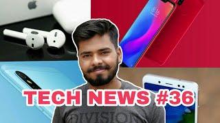 Tech News #36 - Redmi Note 5 Pro Oreo Update, Mi Redmi 6 Pro, Apple Waterproof Earpods, Bird Drone