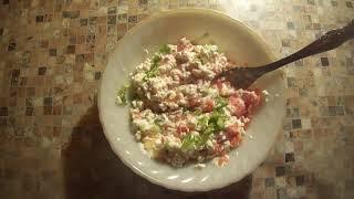 Сделай творожный салат
