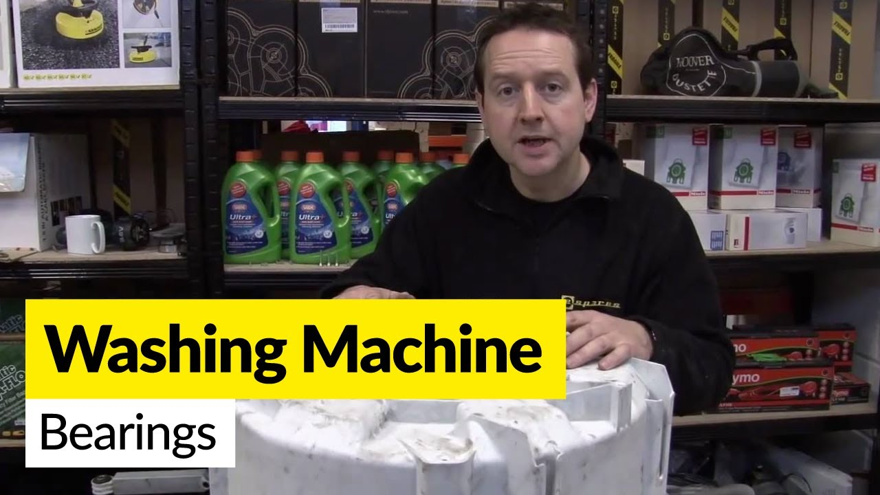 How To Replace Washing Machine Bearings Youtube