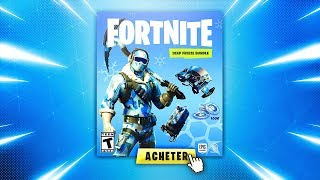 "HOW to GET THE NEW PACK ""BUNDLE FREEZE ON FORTNITE BATTLE ROYALE?"