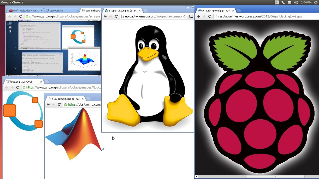 Running Matlab Computer Vision on Raspberry Pi with Linux Octave Tutorial-1  Octave Installation