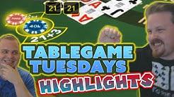 Casino Highlights - VIP Blackjack, Baccarat and Regular Blackjack