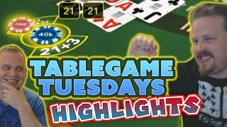 Casino Highlights - VIP Blackjack, Baccarat and Regular Blackjack