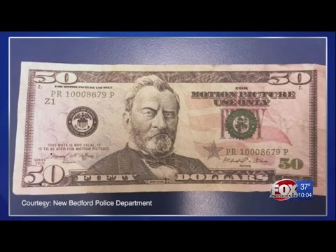 Police investigating 'Motion Picture' Money used at McDonald's
