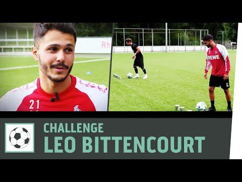 Parcours-Challenge vs. Leo Bittencourt | 1. FC Köln | Fußball-Challenge | Kickbox