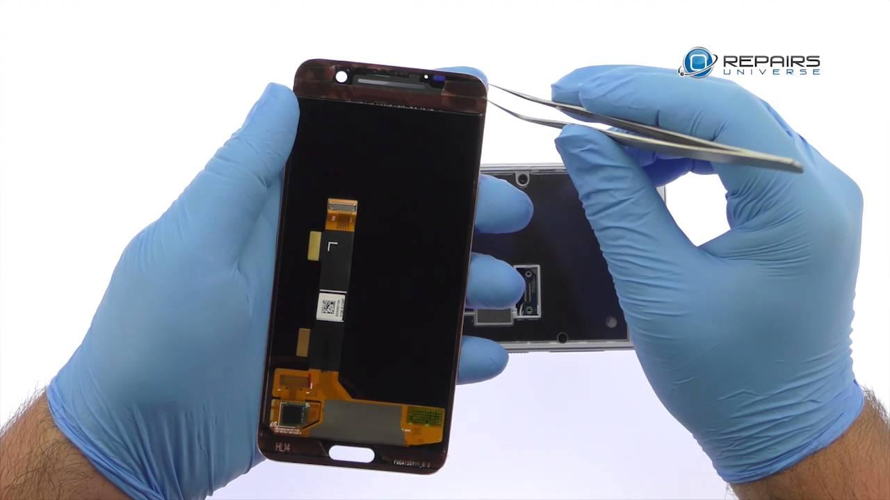 HTC One A9 - Замена LCD дисплея и сенсорного экрана