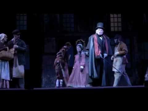 A Christmas Carol The Musical At Pioneer Theatre Company