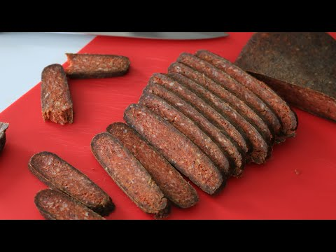ARMENIAN DRIED AND FERMENTED MEAT_ YERSHIG_ SUJUKH