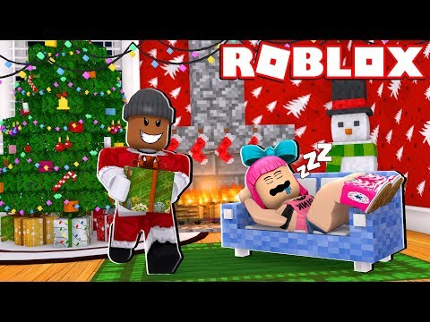 THIEF STEALS CHRISTMAS PRESENTS IN ROBLOX