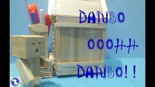 Membuat boneka DANBO dari stik es(Pop stick)