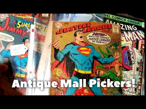 Picking at an Amazing Antique Mall! Toys, video games, comic books, and more!