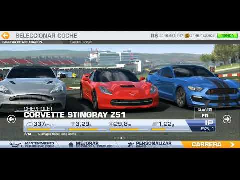 (Chevrolet) Corvette Stingray Z51 - Real Racing 3