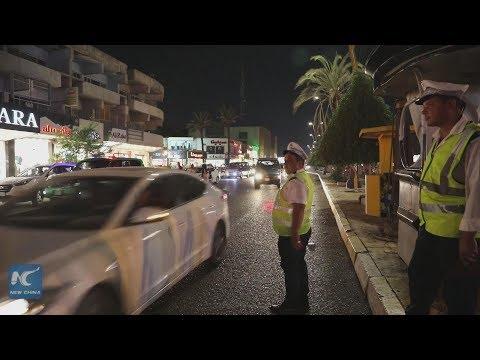 Baghdad nights flourish with decreasing violence