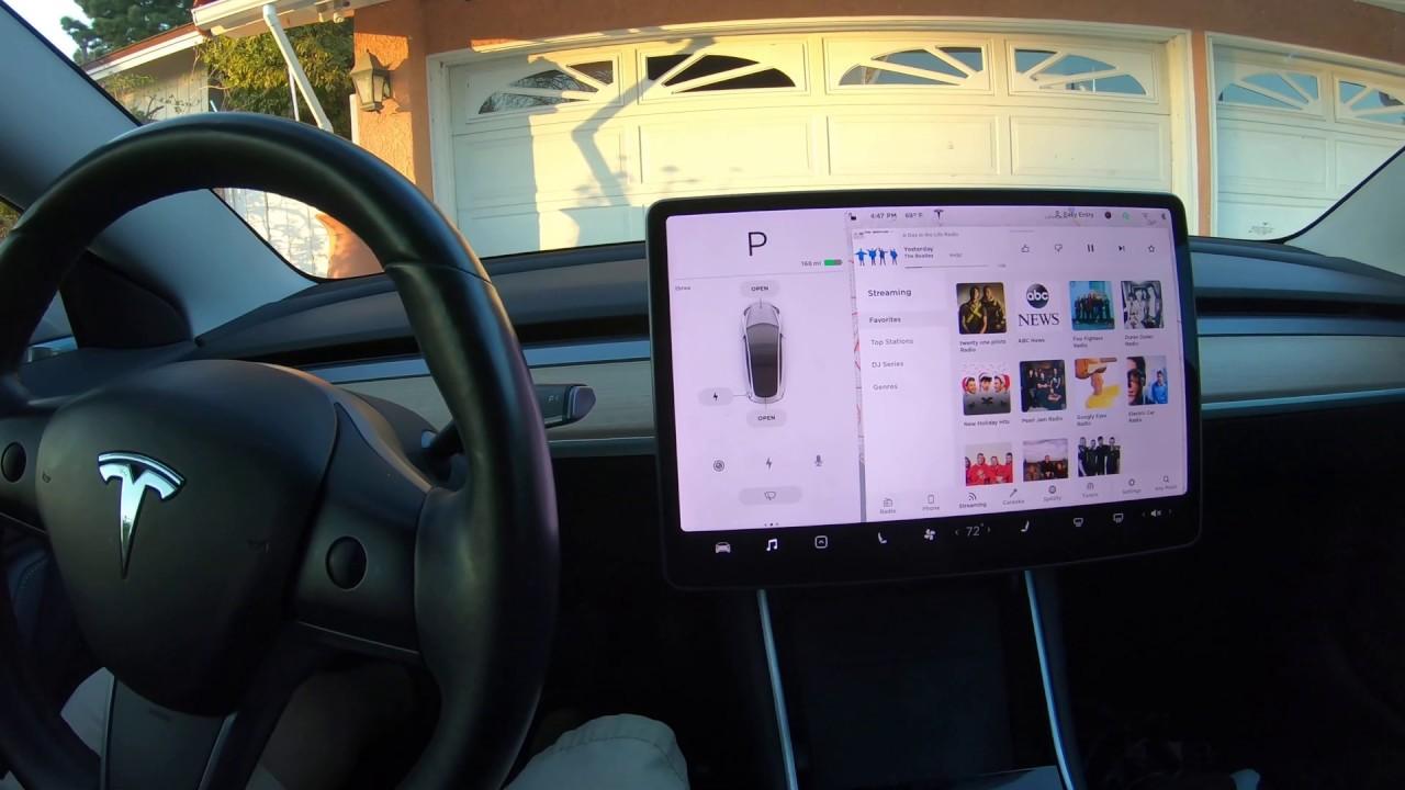 Tesla Model 3 does not play the expected song using the ...