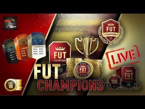 Road To 5K Subs - FUT Champs, Squad Battles & Rewards Live - Fifa 18