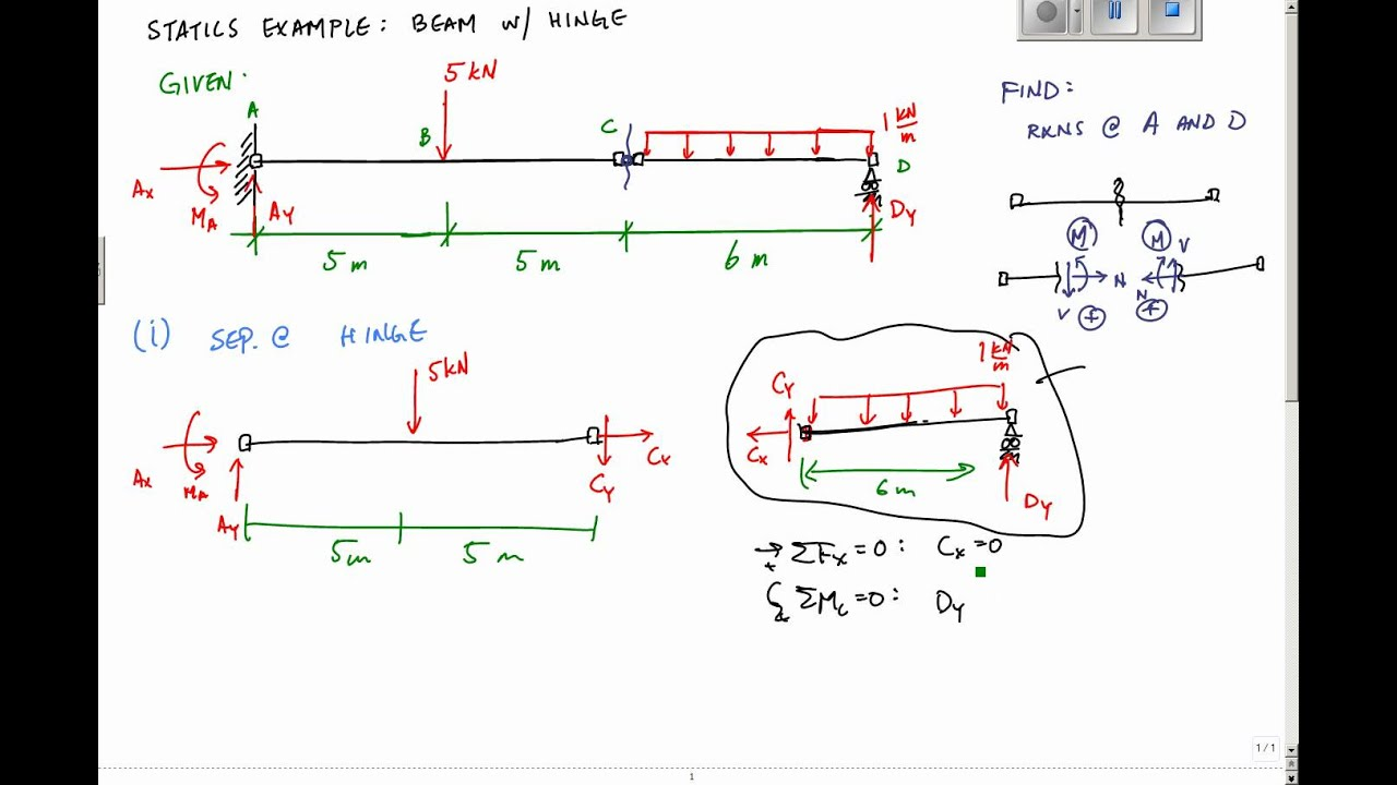 Free Body Diagram Examples Page 1