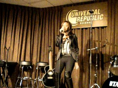 Tisha Howard Performing 4 Universal Republic Records NYC