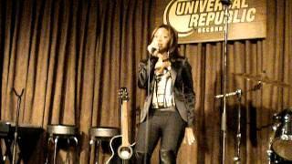 Tisha Howard Performing 4 Universal Republic Records NYC