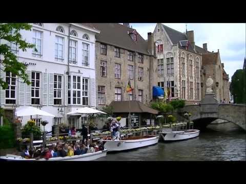 Bruges Belgium Tourist Travel Video Tour