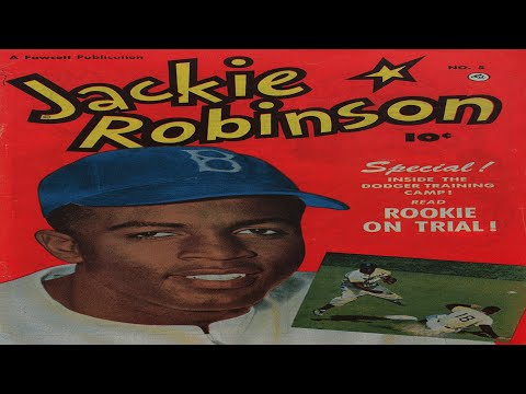 Jackie Robinson No 5 Comix Book Movie