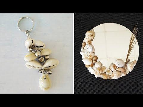 8-incredible-diys-with-sea-shells-|-best-diy-video-|-1-minute-crafts