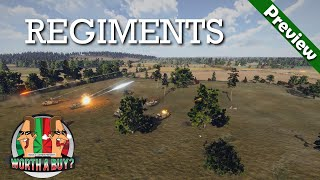 Regiments Preview - Real Time Tactical War Game