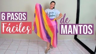 6 Pasos Fáciles de Mantos - Danza Cristiana | Sarah Yuritza
