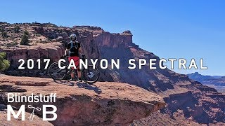 Canyon Spectral Test Ride Review | Captain Ahab, Moab, UT