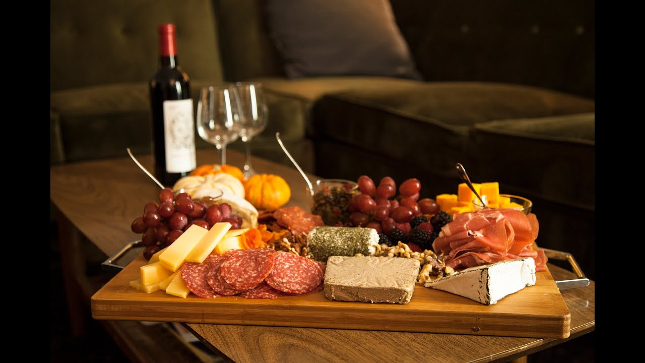 & DECADENT MEAT u0026 CHEESE PLATTER - YouTube