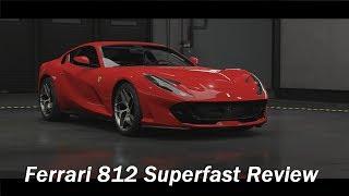 2017 Ferrari 812 Superfast Review (Forza Motorsport 7)