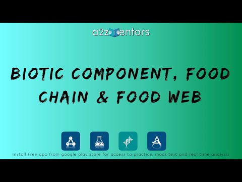 10th-B-EE-002 Biotic Component, Food Chain & Food Web